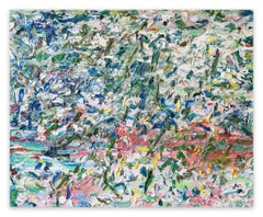 Paysage (Ref 21186) (Abstract painting)