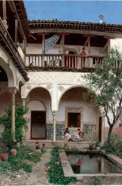A Spanish Courtyard