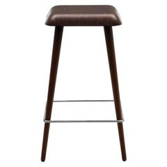 Martin Solem Small Daddy Longlegs Stool in Wenge Stained Ash for Cappellini