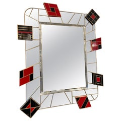 Martin Studio, Black and Red Mirror, circa 2000
