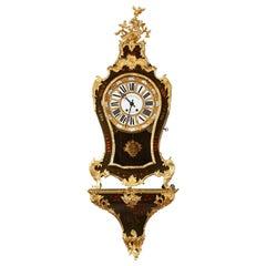 Martin Varnish Cartel Clock in Louis XV Style