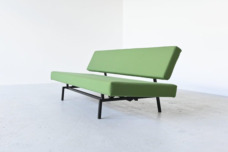 Lacquered Martin Visser BR03 Daybed Sofa 't Spectrum, the Netherlands, 1960 For Sale