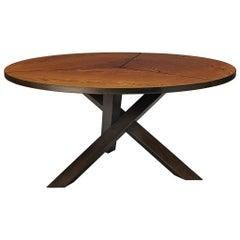 Martin Visser Round Dining Table in Wengé