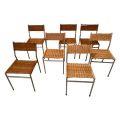 Martin Visser SE05 Wicker Dining Chairs, 3 available
