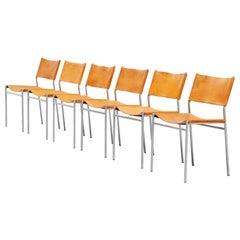 Martin Visser SE06 Dining Chairs Set of 6 't Spectrum, 1967