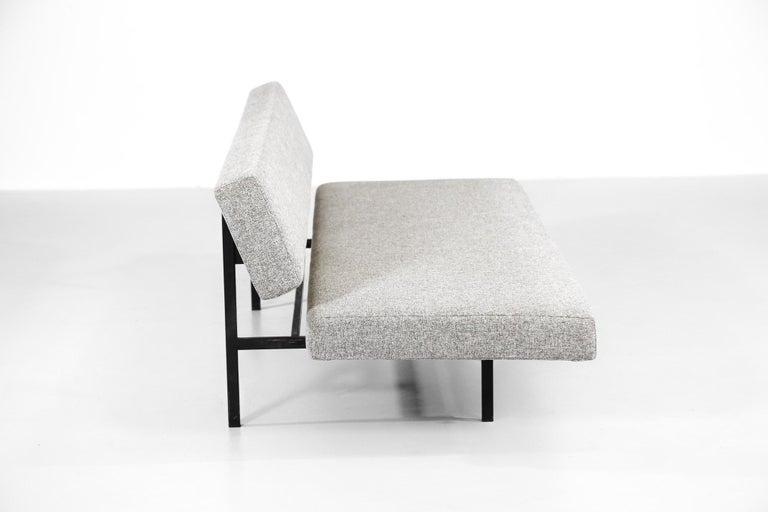 Metal Martin Visser Sofa or Sleeper Sofa for 't Spectrum, Netherlands For Sale