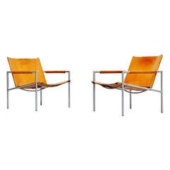 Martin Visser SZ01 Easy Chairs 't Spectrum Holland, 1965