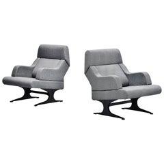 Martin Visser SZ12 Lounge Chairs 't Spectrum, Holland, 1965