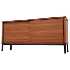 Martin Visser Teak Sideboard with Industrial Base