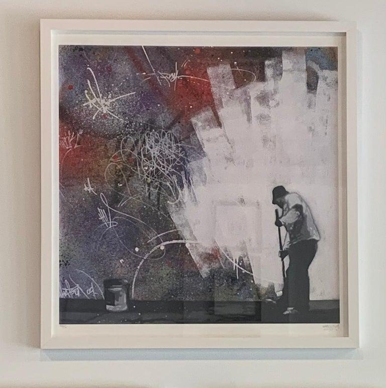 All White - Print by Martin Whatson
