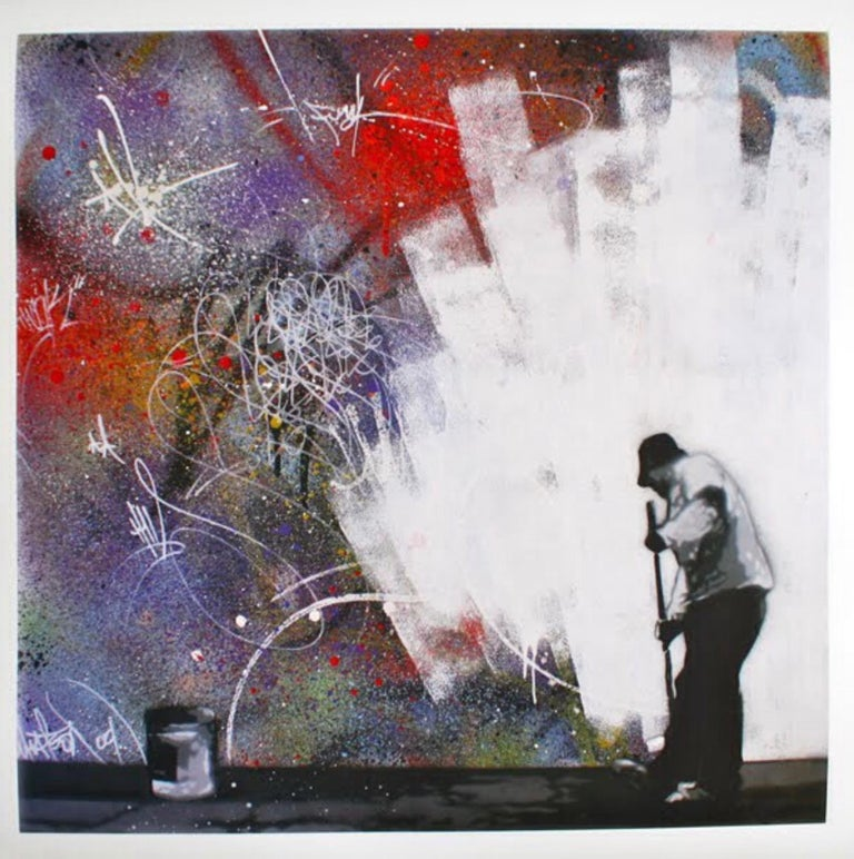 Martin Whatson Print - All White