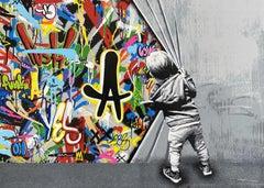 Martin Whatson - Beyond the Wall - Urban Graffiti Street Art