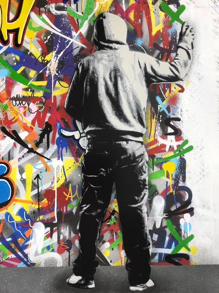 The Cycle Diptych By Martin Whatson 2 Giclee Art Prints 60X60 cm Edition Of 195 2