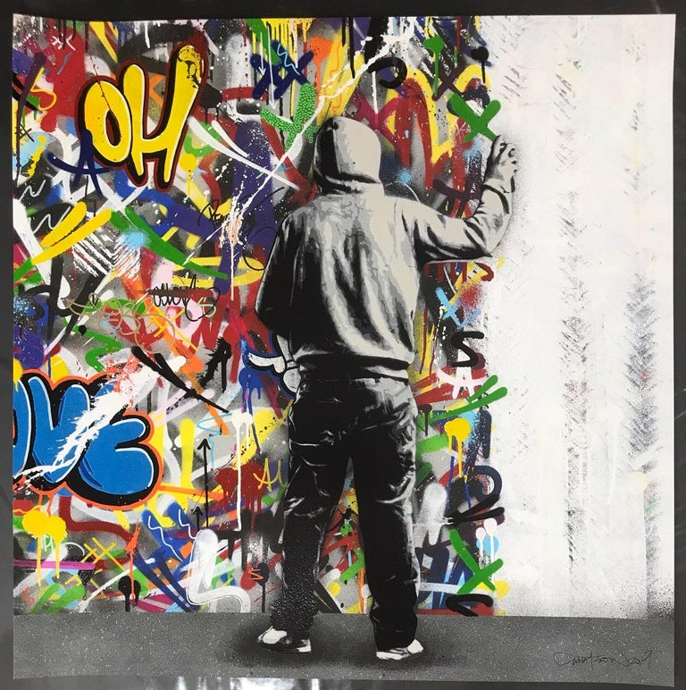The Cycle Diptych By Martin Whatson 2 Giclee Art Prints 60X60 cm Edition Of 195 3