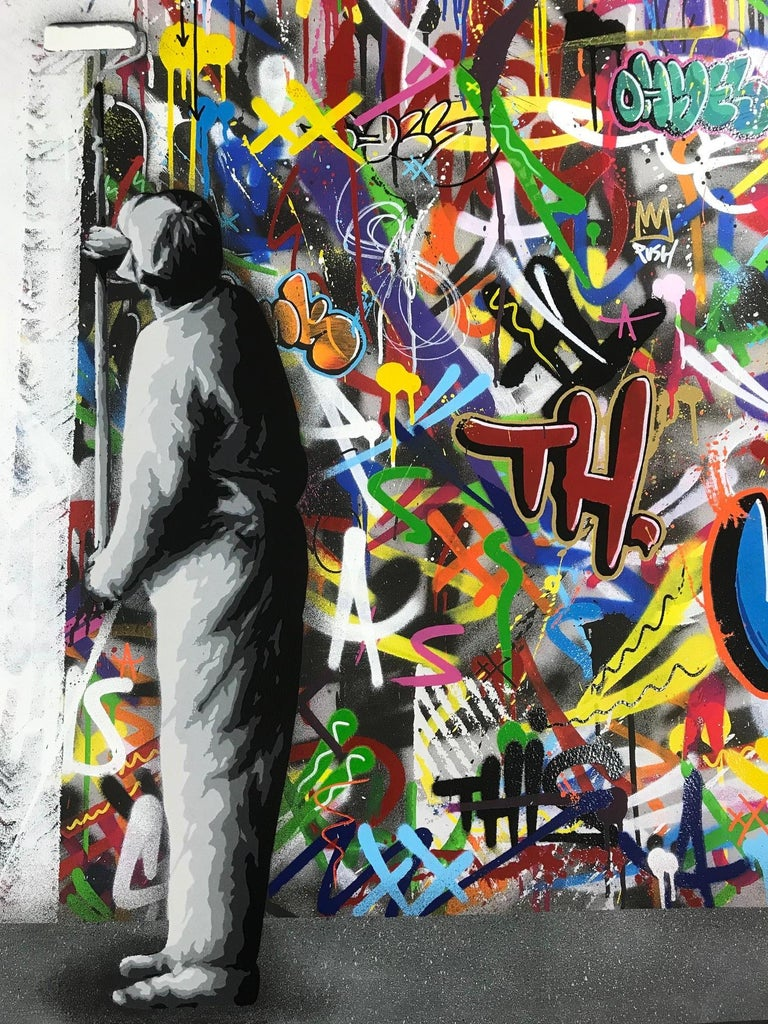 The Cycle Diptych By Martin Whatson 2 Giclee Art Prints 60X60 cm Edition Of 195 4