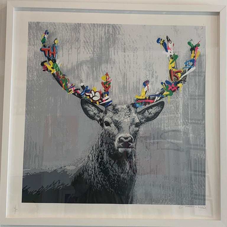 The Stag - Print by Martin Whatson