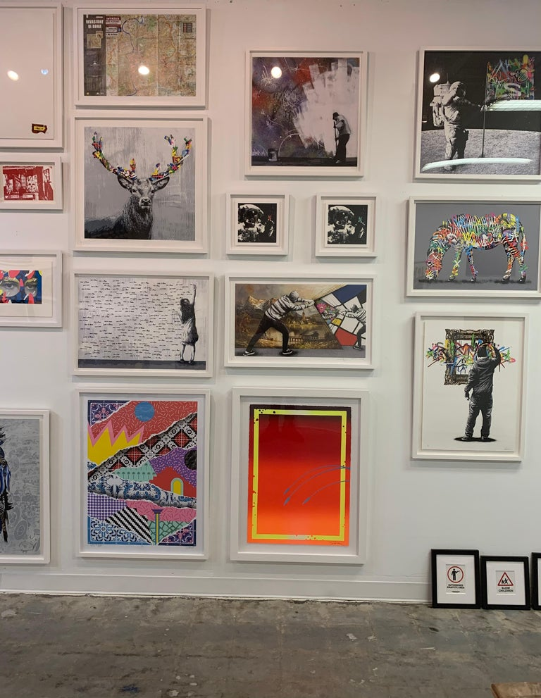 The Stag - Street Art Print by Martin Whatson