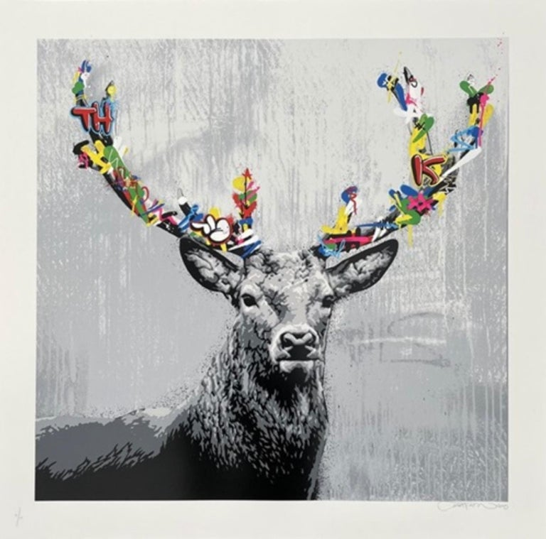 Martin Whatson Animal Print - The Stag