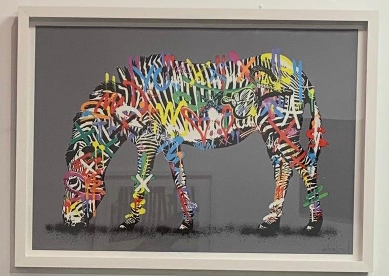 Zebra - Print by Martin Whatson