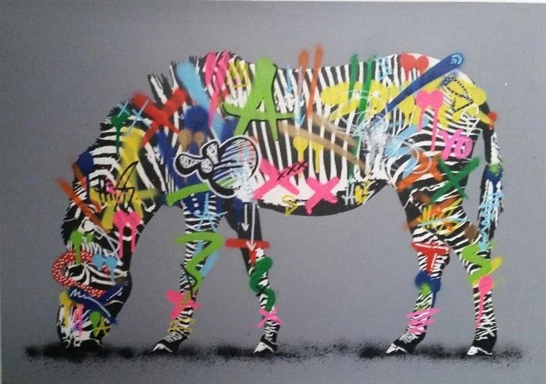 Martin Whatson Animal Print - Zebra