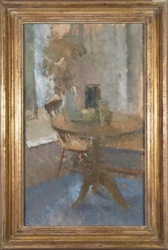 Interior, Holland Park, 1988, Martin Yeoman. oil painting