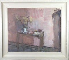 Studio Still Life, Martin Yeoman. interior oil painting