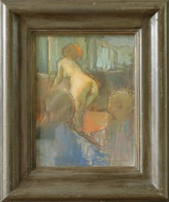 The French Dancer Martin Yeoman British Artist work is both painterly and poetic