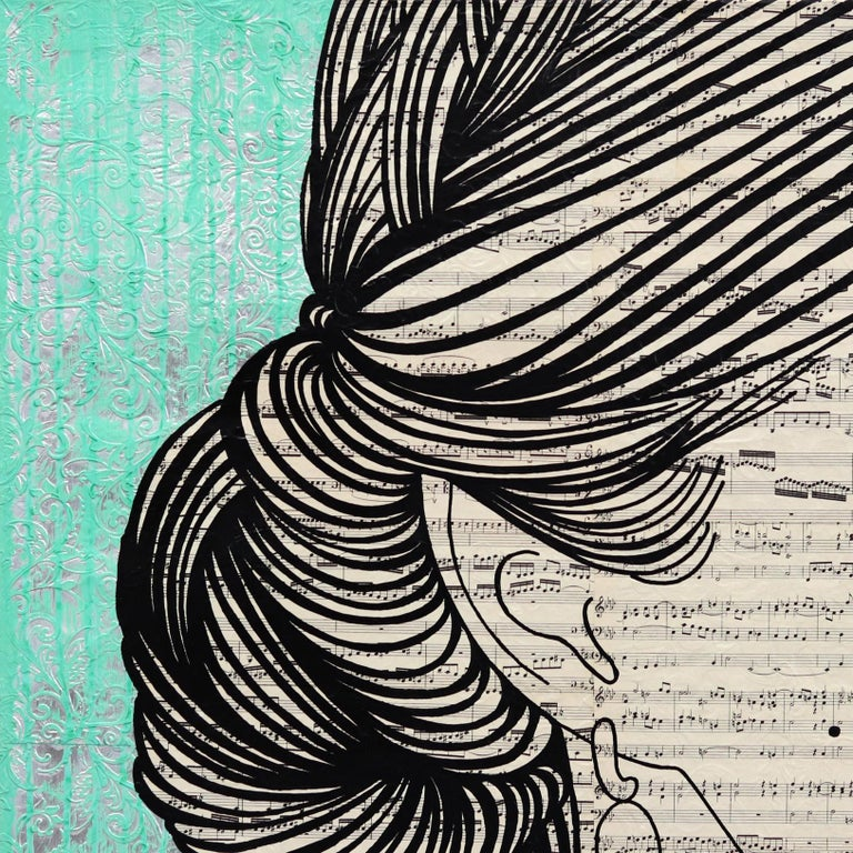 Internationally acclaimed artist Martina Niederhauser takes on new perspectives on women that delve into issues of feelings, beauty, identity, and the deeper layers of relationships between their inner thoughts and outer expressions. By creating