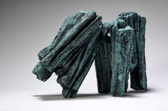 Harmony No. 2 by Martine Demal - Contemporary bronze sculpture, Abstract