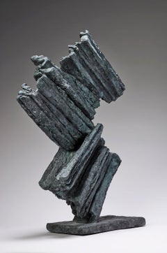 Harmony No. 3 by Martine Demal - Contemporary bronze sculpture, Abstract