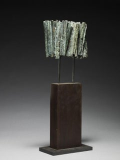 Vibration No. 2 by Martine Demal - Contemporary bronze sculpture, Abstract