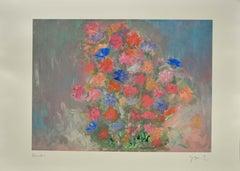 Il Mio Bouquet - Original Digigraph Print by Martine Goeyens - 21th Century
