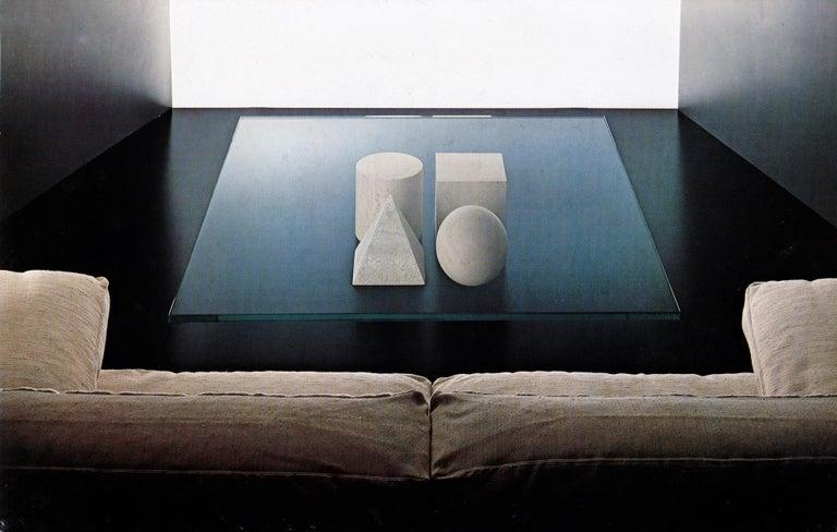 Martinelli Luce Metafora 1979 Table by Lella and Massimo Vignelli For Sale 1