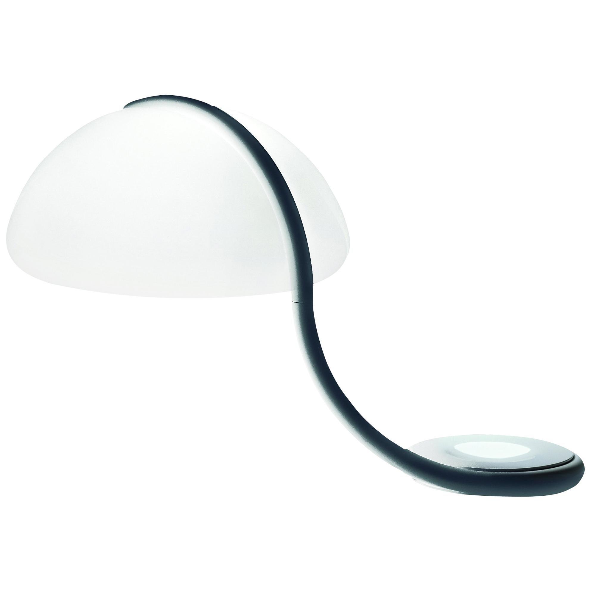Martinelli Luce Serpente 599 Table Lamp by Elio Martinelli
