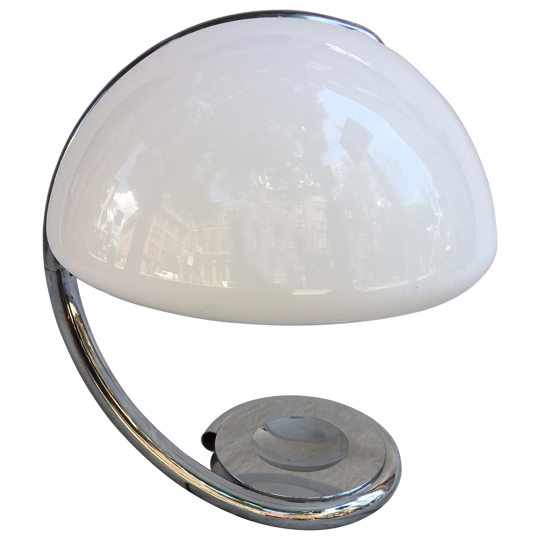 Martinelli Luce Serpente Table Lamp, 1965
