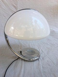 Martinelli Luce  Serpente Table Lamp  1965