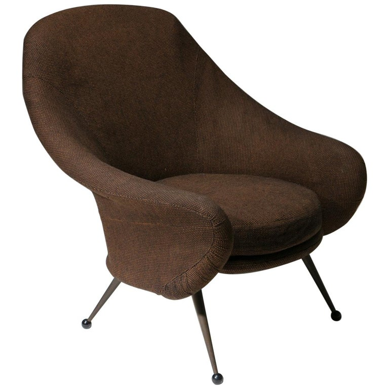 """""""Martingala"""" Lounge Chair by Marco Zanuso for Arflex For Sale"""