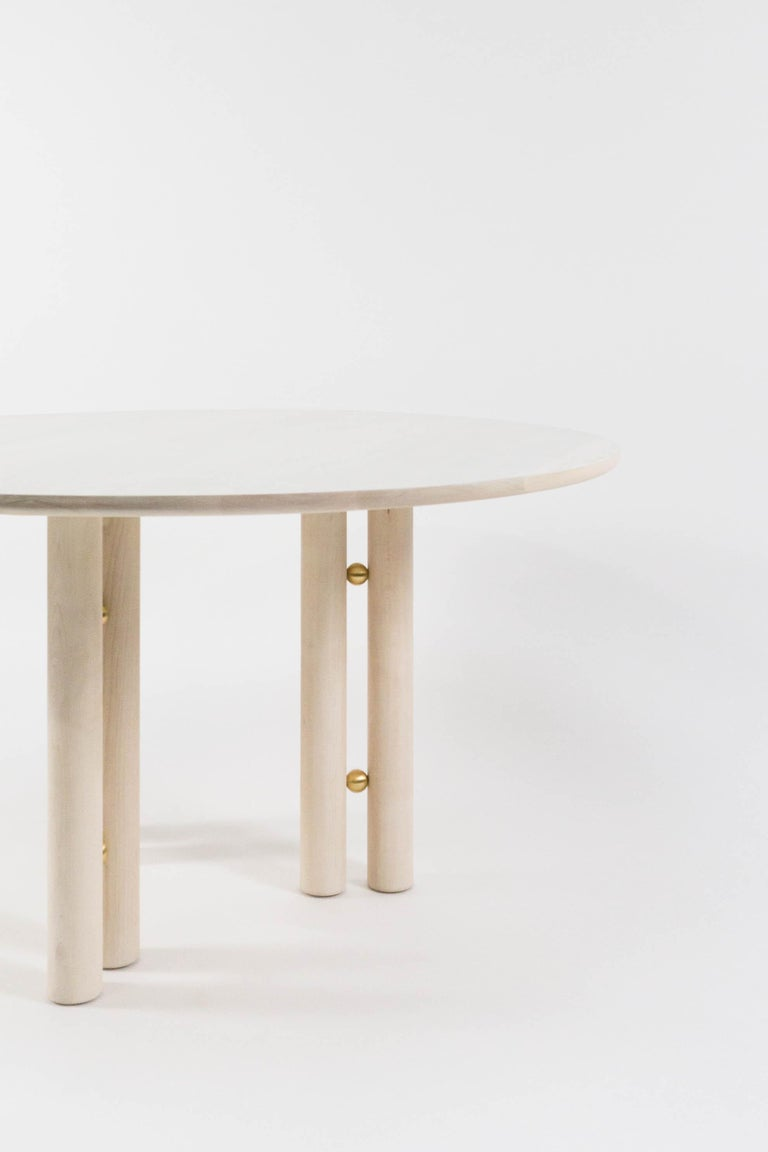 The Martini dining table is the perfect compliment to smaller dining spaces, without losing any elegance in its luxurious proportions. Designed for convenience and flexibility, the Martini dining table can be assembled or disassembled in minutes.