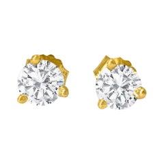 Martini Style VVS Diamonds Studs