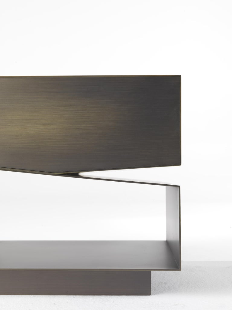 Modern Martinica 1 Drawer Night Table in Wood by Roberto Cavalli For Sale