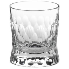 Martino Gamper Handmade Irish Crystal Whiskey Tumbler Cuttings Series CUT I