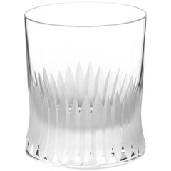 Martino Gamper Handmade Irish Crystal Whiskey Tumbler 'Cuttings' Series
