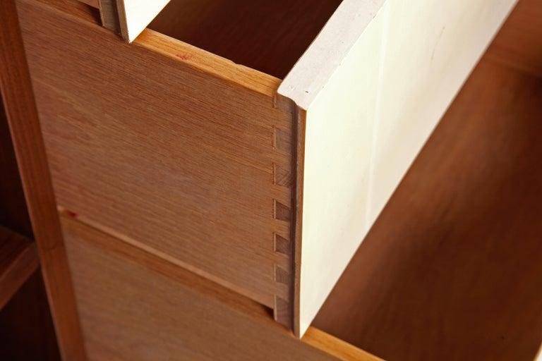 Woodwork Martinsville Walnut Mid-Century Modern Credenza For Sale