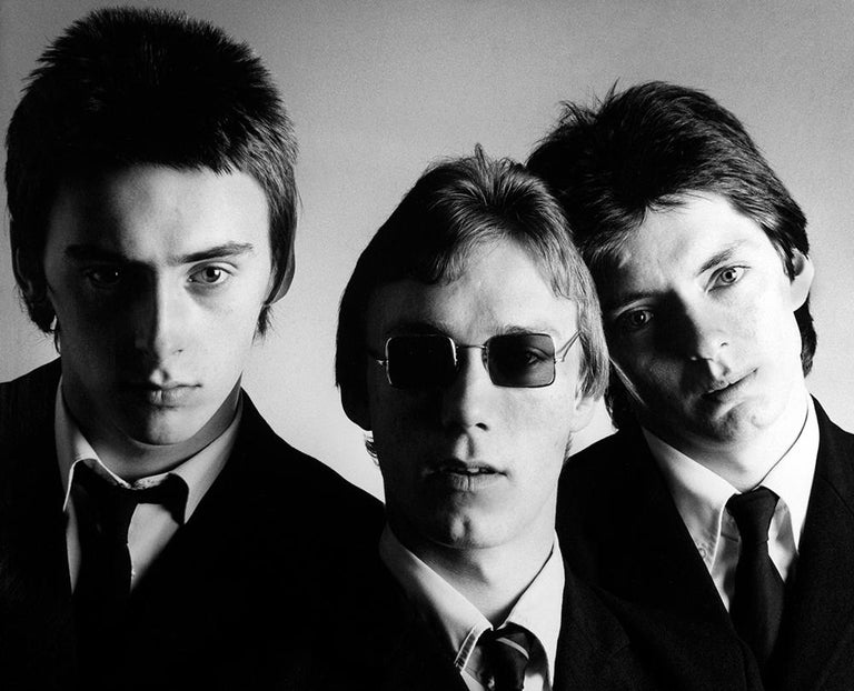 Martyn Goddard Figurative Photograph - The Jam - Paul Weller  - signed, limited edition