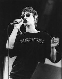 Sinead O'Connor at Glastonbury Festival Vintage Original Photograph