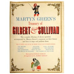 Martyn Green's Treasury of Gilbert and Sullivan, Stated 1st Printing