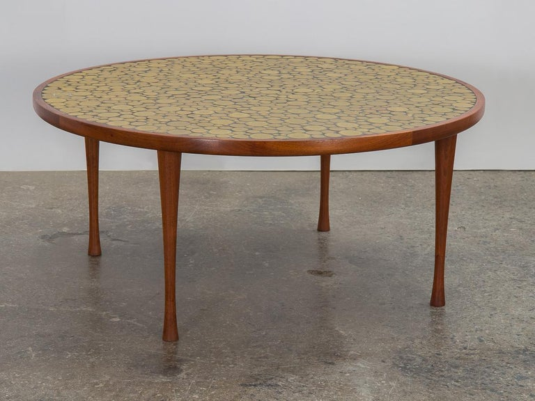 Martz Coin Tile Coffee Table For Sale 2