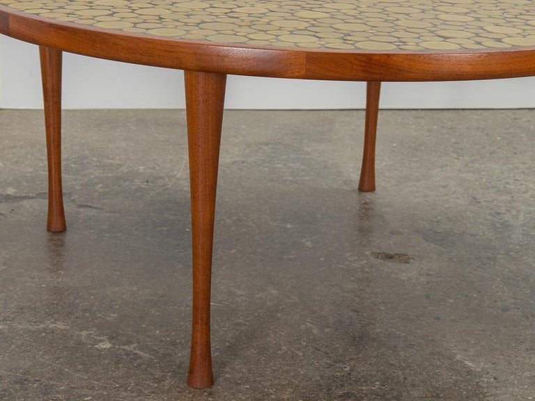 Martz Coin Tile Coffee Table For Sale 1