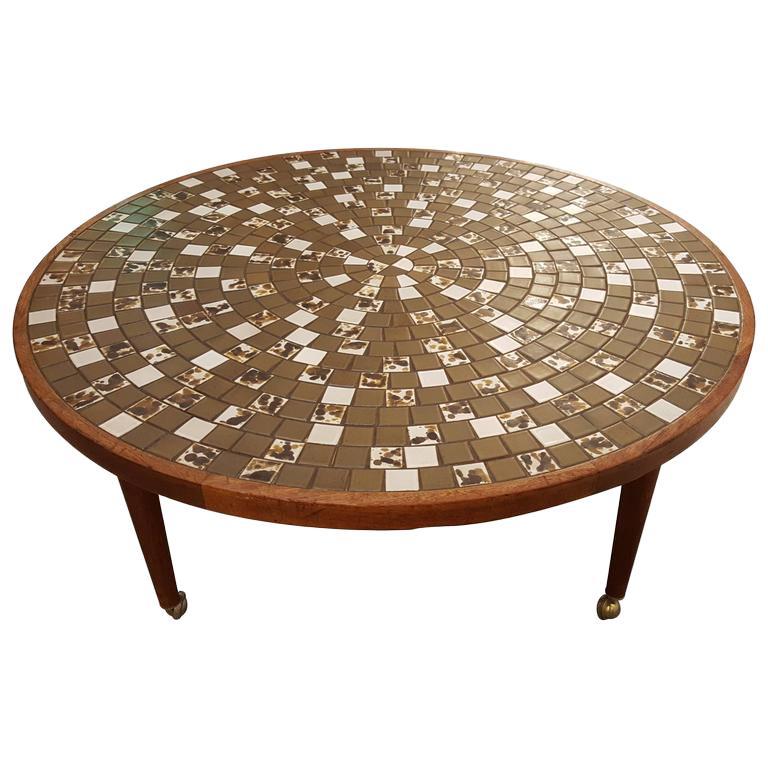Martz Mosaic Tile Coffee Table
