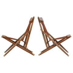 Maruni Mokko of Japan Folding Sling Chairs
